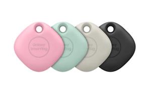Samsung Galaxy SmartTag Bluetooth Tracker (4 Pack, Multi Colors) EI-T5300KMEGWW