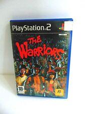 The Warriors PS2 PAL  Original Case Cover Art & Manual NO GAME