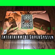 NEW TurboGrafx-16 Mini (PC Engine Mini) Konami Console, 59 Games - w/ Controller