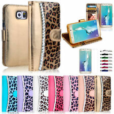 Unbranded/Generic Jewelled Synthetic Leather Mobile Phone Wallet Cases
