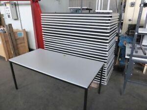 Tisch Metallgestell Pausentisch Schreibtisch  Konferrenztisch 160x80x71 cm