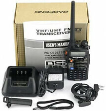 Portable Transceiver Radio Scanner Handheld Police Fire Vhf Fm Ems Ham Two Way