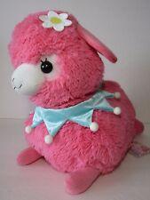 Lovely Baby Alpacasso Strawberry Dark Pink Alpaca Flower 40cm Plush Amuse Kawaii