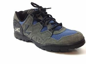 Lake MX100 Men's  Mountain Shoes, Gray/Blue, Size US 6.5, EUR 40