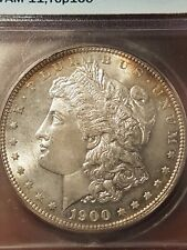 ONE-OF-A-KIND! 1900P MS66 VAM-11 Doubled Die Reverse S$1. Morgan Silver Dollar
