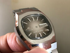 Automatic Ss Watch Case With Parts Classic Mido 1879 Swiss Made Multi Star