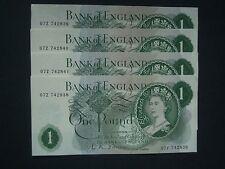 ***Crisp**British 1960  £1 'GEF' ++**'07Z'   O,Brien banknotes****