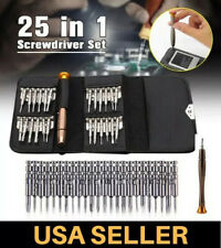 25 Precision Screwdriver Set Computer Repair Kit Tools Laptop PC Torx Smartphone