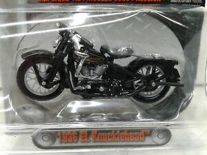 1936 Harley Davidson EL KNUCKLEHEAD 1:24 die-cast replica BLACK Maito 2004 HD