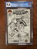 Amazing Spider-Man Renew Your Vows #2 NM J Scott Campbell Sketch Variant CGC 9.6