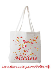 Tote Bag Custom Photo Logo Text Personalized Bridesmaid Gift Party Wedding