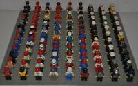 Lego Figuren 12x korrekt zusammengesetzt inkl Kopfbedeckung / Haare a. City Town