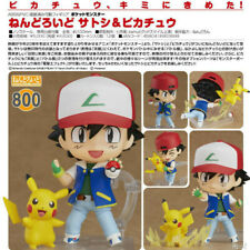 Anime Model Cute Clay People Pet Elf Pokemon Pikachu Ash 800 Changing Face Toy