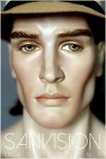 Rare Gemini Vintage Male Mannequin Torso Bust Head Display Schaufensterpuppe Old