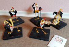 Albert & Kiki lemant ambas-pollos-quinteto/pollo-esculturas!!!