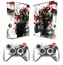 254 Vinyl Decal Cover Skin Sticker for Xbox360 slim and 2 controller skins