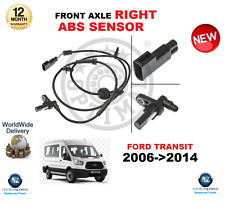 FOR FORD TRANSIT ABS SENSOR 2006-2014 FRONT AXLE RIGHT HAND SIDE OE QUALITY