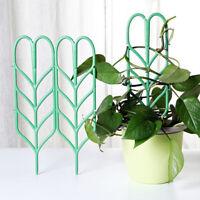 FJ- 3Pcs 35.5cm Garden Trellis For Climbing Plant Pot Support Leaf Trellis Surpr