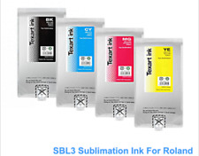 4 Colors SBL3 Dye Sublimation Ink Bag For Roland Texart RT-640 XT-640 Printer