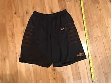 Oklahoma State Cowboys Authentic On Court Under Armour Basketballs Game Shorts