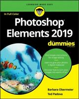 Photoshop Elements 2019 for Dummies, Paperback by Obermeier, Barbara; Padova,...