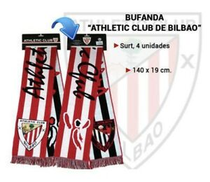 Original Scarf Athletic Club Bilbao with Oficial Hologram -Fast Shipping
