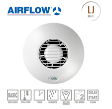 AirFlow Icon 30 Bathroom Extractor Fan 72591601 240V 100mm Wall Ceiling New