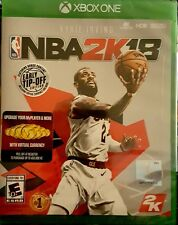 NBA 2K18 * XBOX ONE * BRAND NEW FACTORY SEALED!