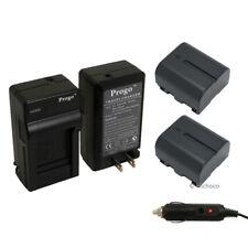 2 Battery + Charger Kit for JVC BN-VF707U Everio GZ-MG21U GZ-MG20U GZ-MG30 MG31