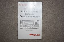 Snap-On MTG2500 Color Graphing Scanner Companion Guide Second Edition Manual