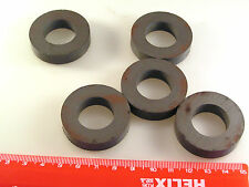Circular aimant 40 mm diameter x 9 mm with 21 mm Hole 5 pieces m40r om0879a