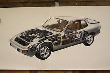 PORSCHE 924 S PVC grande lavoro Negozio Banner Garage CAR SHOW Banner
