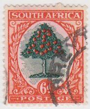 (RSA82)1926 SouthAfrica 6d orange &green tree(South)(C)