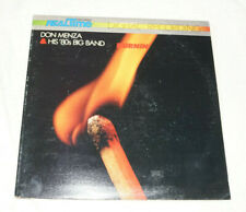 LP : Don Menza & His 80s Big Band - Burning (1981) Realtime Records West Germany