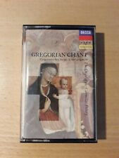Gregorian Chant The Choir of The Carmelite Priory McCarthy Cassette
