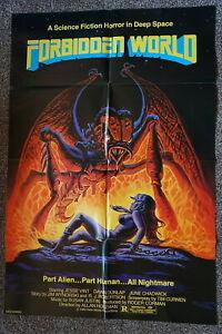 FORBIDDEN WORLD  ROGER CORMAN  SCI-FI ONE SHEET 1982
