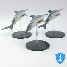 Hammerhead Shark x3 - Skull & Shackles #33 Pathfinder Battles D&D Miniature