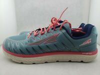 Altra One v3 LtBlue/Coral Running Shoes Women's US 10.5 (418)