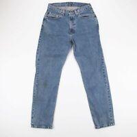 Vintage RALPH LAUREN  Blue Denim Relaxed Straight Jeans Mens W30 L32