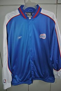 Los Angeles Clippers Zipper-Front Mens 2XL Warmup Reebok 2015/Nice