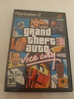 Grand Theft Auto Vice City Game and Case PS2 Sony Playstation 2