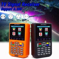 """V9 Finder DVB-S/S2 H.265 3.5"""" Digital TV Satellitensignal Finder Meter Messgerät"""