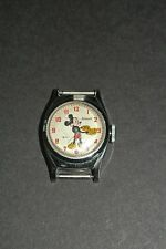 Mickey Mouse Vintage 1946 Wristwatch US Time Corp. Ingersoll Walt Disney * Rare