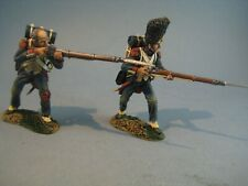 PLOMB - TEAM MINIATURES - REF NPL6004 - 2 GRENADIERS TIRANT AU MOUSQUET