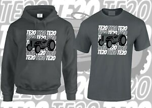 Ferguson TE20 NEW DESIGN from Pixel-it T-Shirt / Hoodie SET!