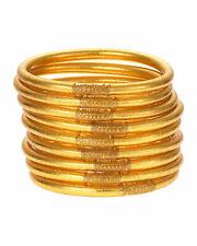 BUDHAGIRL All Weather Gold Bangles - Med