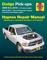 Dodge Full-Size pick-up 2009-2018 Repair Manual