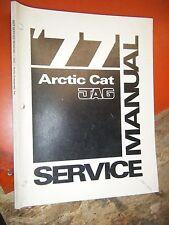 1977 ARCTIC CAT JAG SNOWMOBILE ORIGINAL FACTORY SERVICE MANUAL