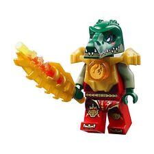 Lego Chima 70144 CRAGGER FIRE ARMOR Minifigure NEW Gold Armor Fire Valious