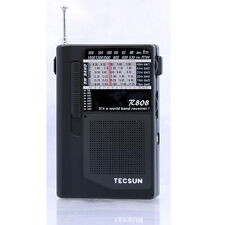 Tecsun World Radio R-808 FM/MW/SW Full Band Mini Radio Portable Size s494